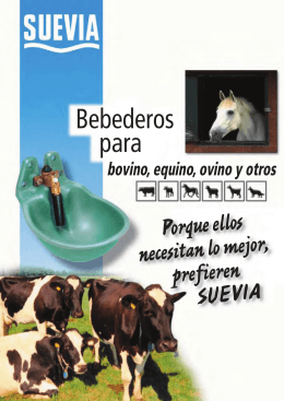 Bebederos para - SUEVIA HAIGES GmbH