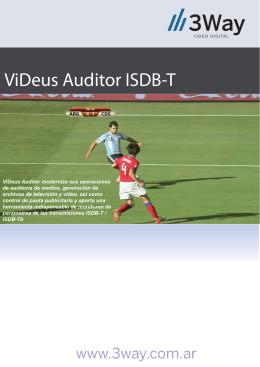 Auditor ISDB-T.ai