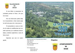 Verano 2009.pub - Ayuntamiento de Sesué