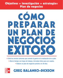 Como Preparar un Plan de Negocios Exitoso_Greg Balanko