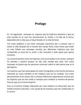 01-Prologo 1 - Federación Espírita de El Salvador