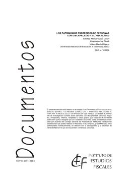 ESTUDIOS FISCALES - Instituto de Estudios Fiscales