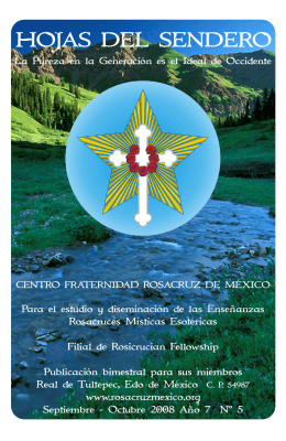 Hojas del Sendero-año7-Nº5 - Centro Fraternidad Rosacruz de
