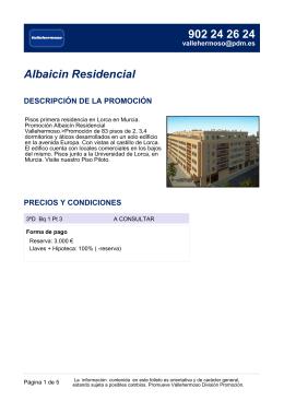 Albaicin Residencial