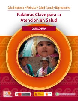 Palabras clave para la atención en salud - Quechua de