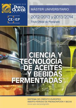 ACEITES Y BEBIDAS PARTES.indd - Universidad Pablo de Olavide