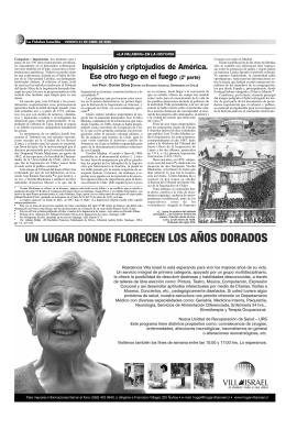 Página 12 - La Palabra Israelita