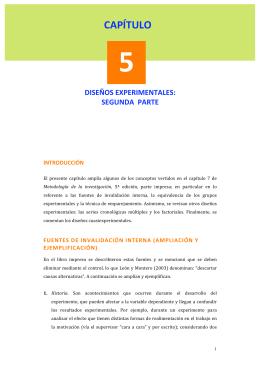 CAPÍTULO - Metodología de la investigación.2012