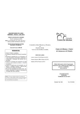 Centro de Idiomas y Centro de Autoacceso de Orizaba