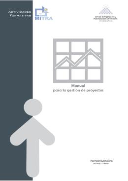 Manual para la gestión de proyectos