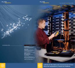 Cableado de Fibra Óptica para Comunicaciones de