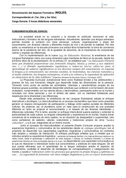 Inglés - Dirección de Educación Técnico Profesional