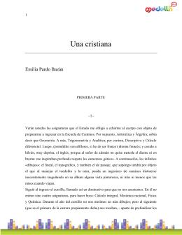 PardoBazan_Emilia-Una Cristiana