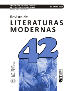 reseñas - Biblioteca Digital UNCuyo