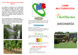 folleto decogarden