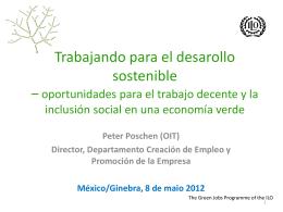 OIT Rio20 Conf Prensa Mexico 8 mayo 2012