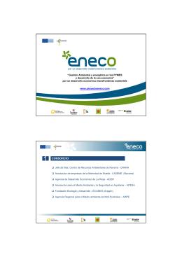 Presentación del proyecto ENECO