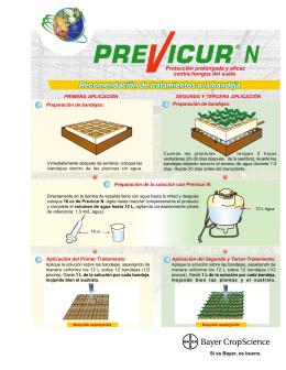 Protección prolongada y eficaz contra hongos del suelo.