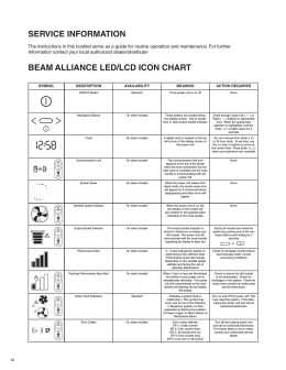 Beam Alliance Operation manual_domestic 87238