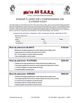 formulario de compromiso de patrocinio