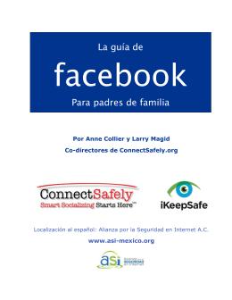 La Guía de Facebook para padres de familia