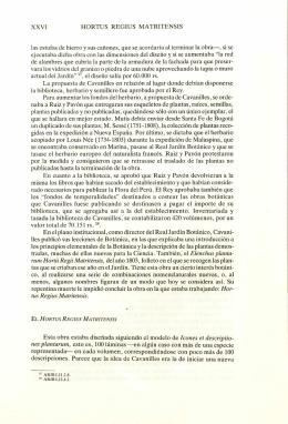 XXVI - Biblioteca digital del Real Jardín Botánico de Madrid