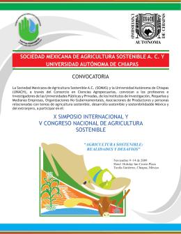 Sociedad Mexicana de Agricultura Sostenible, A.C