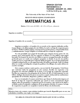 9081873 Math A Sp Jan 01