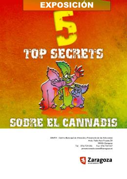 Exposición 5 Top Secrets sobre el cannabis. Resumen