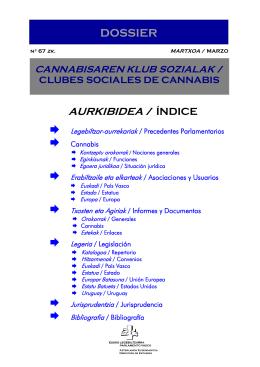 Clubes sociales de cannabis (marzo 2012)