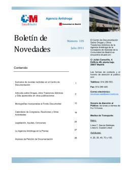 Boletín de Novedades - COLEF Castilla y León