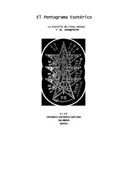 KLIM, SWAHA , KRISHNAYA- El Pentagrama