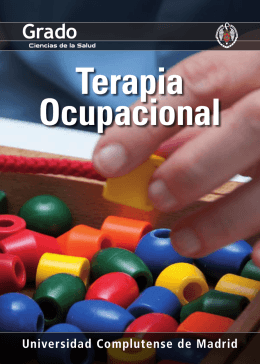 Terapia Ocupacional - Universidad Complutense de Madrid