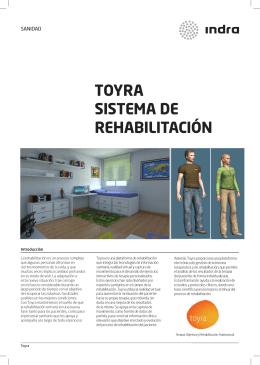 TOYRA SISTEMA DE REHABILITACIÓN