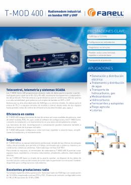 TMOD 400 ESP - farell instruments