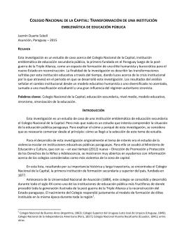 colegio nacional de la capital - Grupo de Estudios Sociales sobre