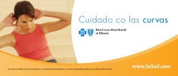 Cuidado co las curvas - Blue Cross and Blue Shield of Illinois