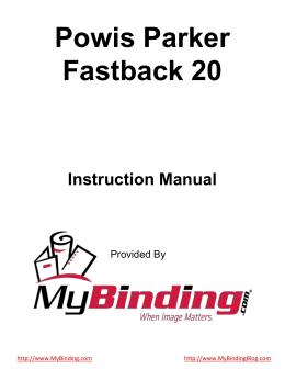 Powis Parker Fastback 20