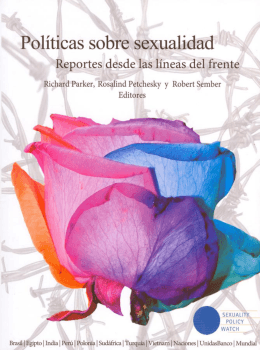 el libro completo  - Sexuality Policy Watch