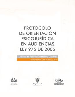Descargar el protocolo de orientación psicojurídica en audiencias