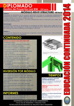 Folleto Modulo Revit Structure