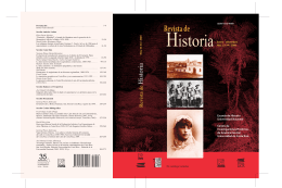 Revista de Historia - Universidad de Costa Rica