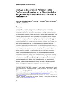 ¿Influye la Experiencia Personal en las Preferencias Basadas en la