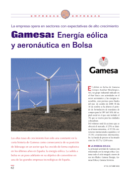 Gamesa - Repositorio Digital UPCT