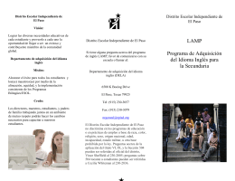 MS ESOL Spanish Brochure