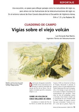 Vigías sobre el viejo volcán - Colegio Oficial de Ingenieros Técnicos