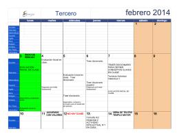 febrero 2014 - Colegio Ebenezer