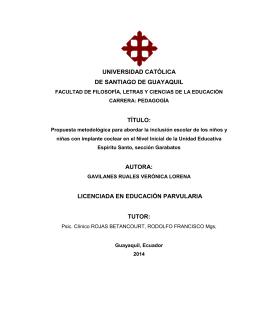 autora - UCSG - Universidad Católica de Santiago de Guayaquil