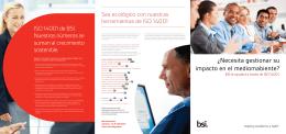 Descargue la Guía de productos ISO 14001