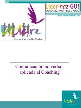 Comunicación no verbal aplicada al Coaching - Líder-haz-GO